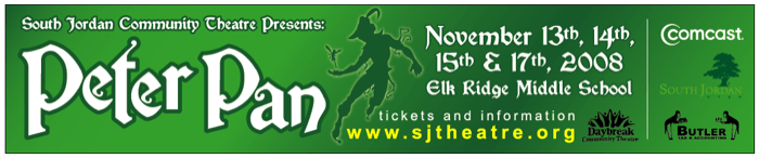 Peter Pan - Web Banner