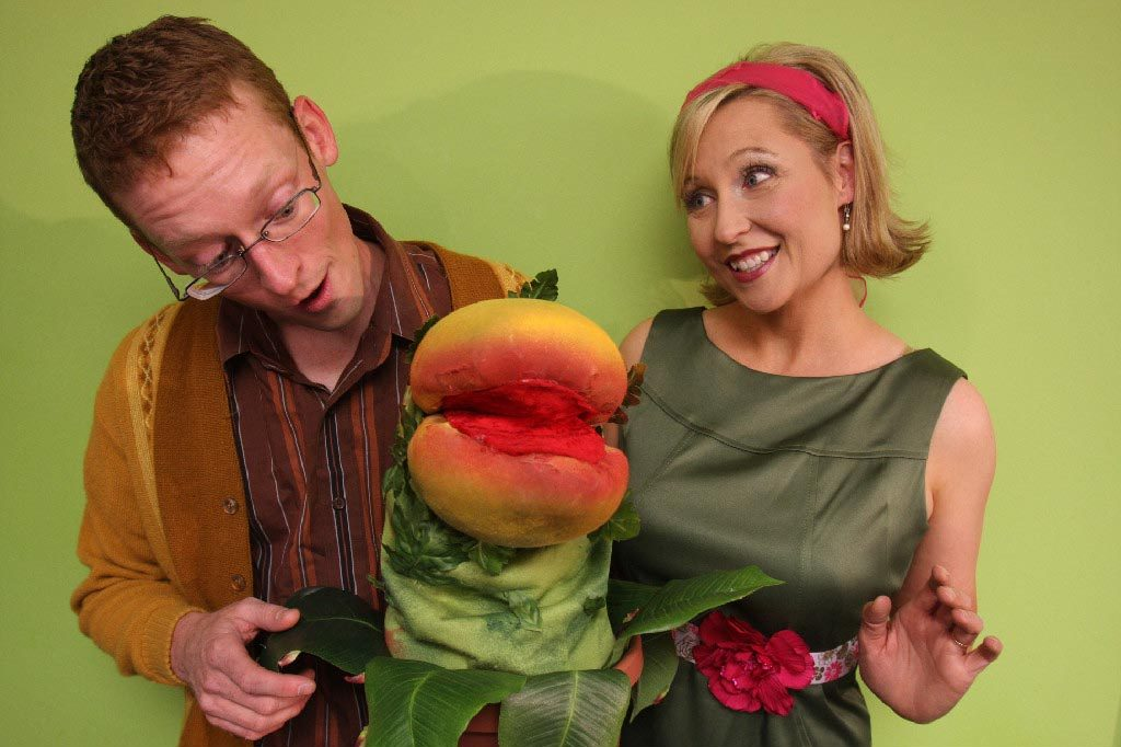 Audrey and Seymour Little Shop of Horrors