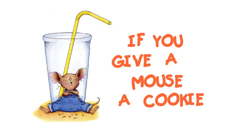 If You Give a Mouse a Cookie Logo